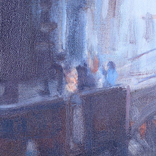 """Joe Abbrescia """"Serenita"""" oil on canvas - 5"""