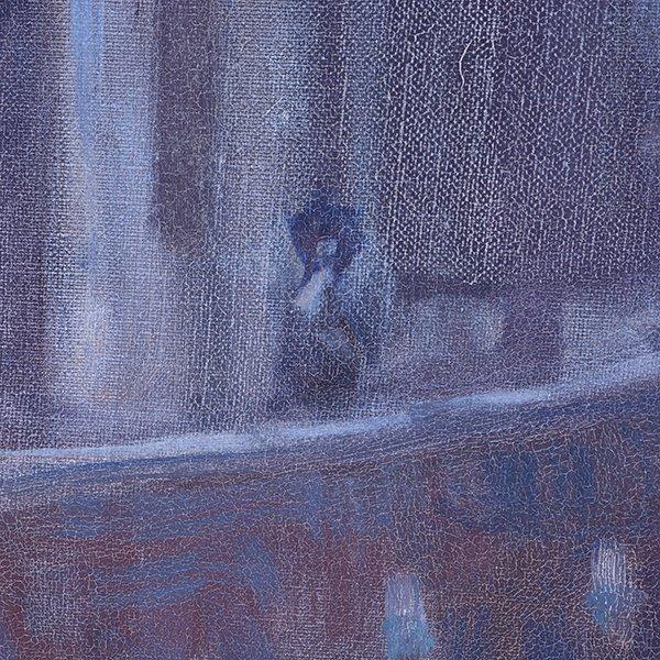 """Joe Abbrescia """"Serenita"""" oil on canvas - 6"""