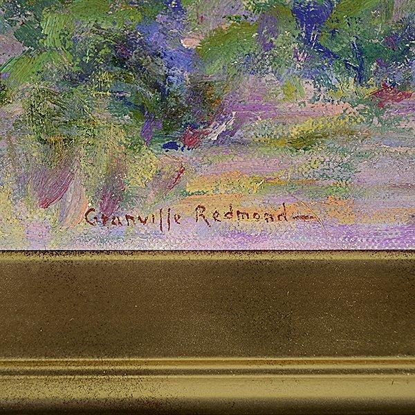 "Granville Redmond ""Mountain Desert Landscape"" oil on - 2"