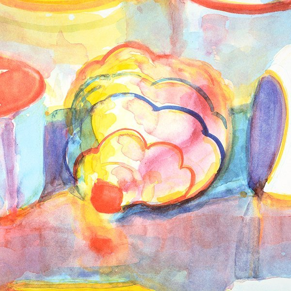 """Wayne Thiebaud """"Colorful Cakes"""" lithograph - 3"""