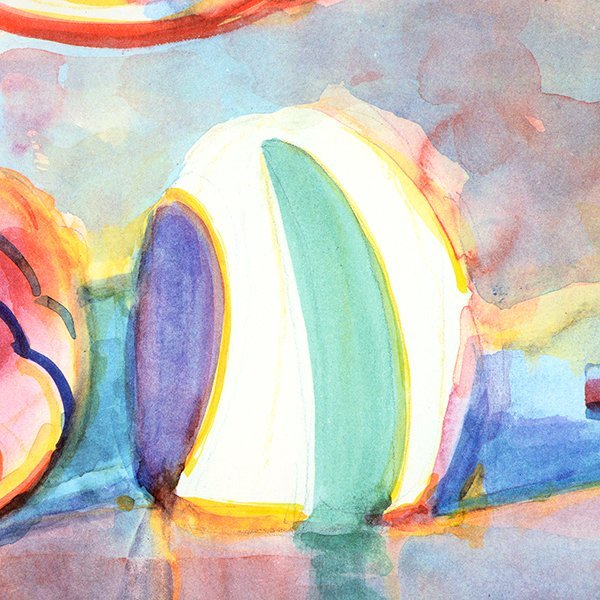 """Wayne Thiebaud """"Colorful Cakes"""" lithograph - 6"""