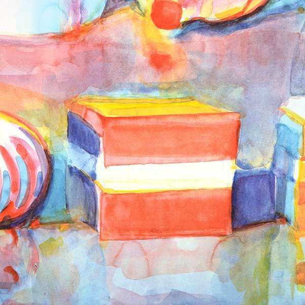 """Wayne Thiebaud """"Colorful Cakes"""" lithograph - 7"""