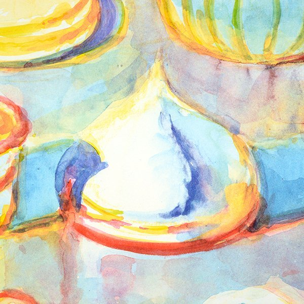 """Wayne Thiebaud """"Colorful Cakes"""" lithograph - 9"""