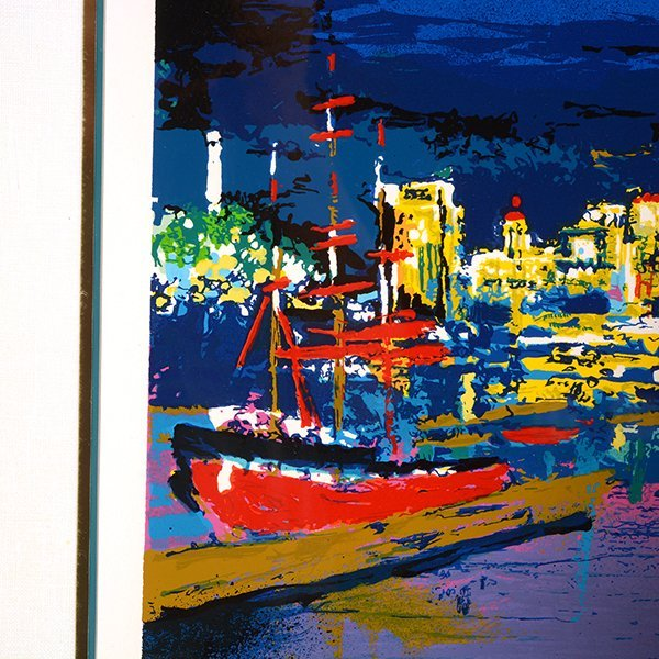 "Leroy Neiman ""City by the Bay"" serigraph - 10"