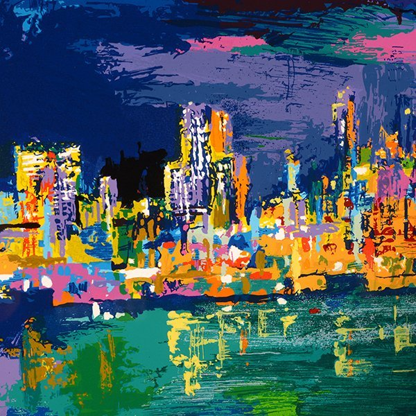"Leroy Neiman ""City by the Bay"" serigraph - 4"