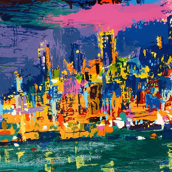 "Leroy Neiman ""City by the Bay"" serigraph - 5"