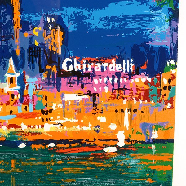 "Leroy Neiman ""City by the Bay"" serigraph - 6"