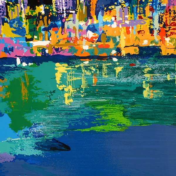 "Leroy Neiman ""City by the Bay"" serigraph - 7"