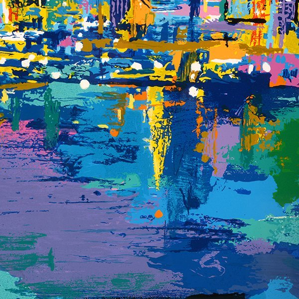 "Leroy Neiman ""City by the Bay"" serigraph - 8"