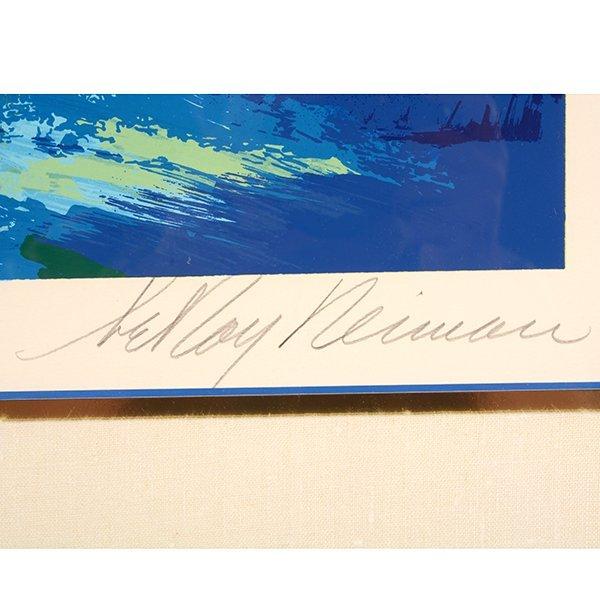 "Leroy Neiman ""San Francisco by Night"" serigraph - 2"