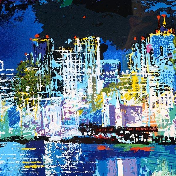 "Leroy Neiman ""San Francisco by Night"" serigraph - 4"