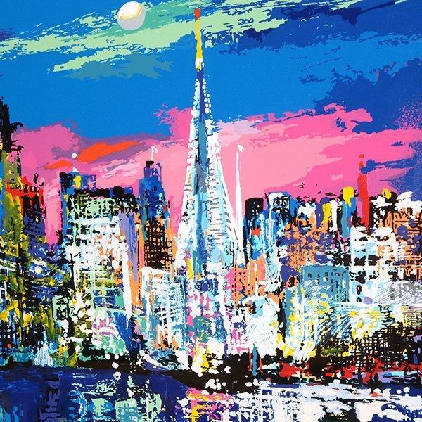 "Leroy Neiman ""San Francisco by Night"" serigraph - 7"