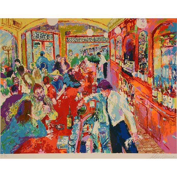 "Leroy Neiman ""Buena Vista Bar"" serigraph"