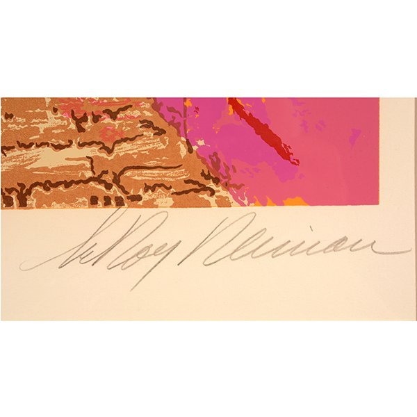 "Leroy Neiman ""Buena Vista Bar"" serigraph - 2"