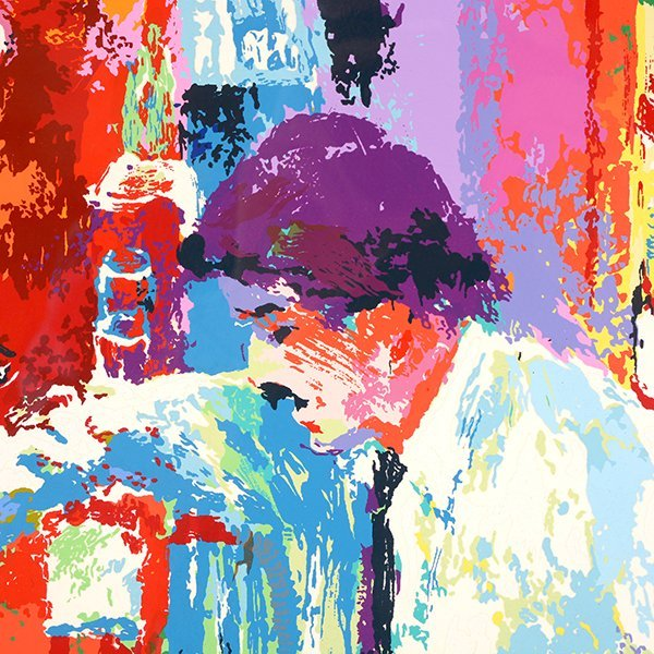 "Leroy Neiman ""Buena Vista Bar"" serigraph - 3"