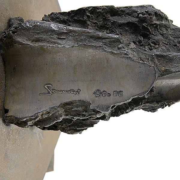 """Francesco Somaini """"Proposta per um Monumento"""" iron - 5"""