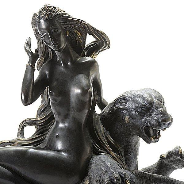 "Tiefeng Jiang ""Mountain Ghost"" bronze - 2"
