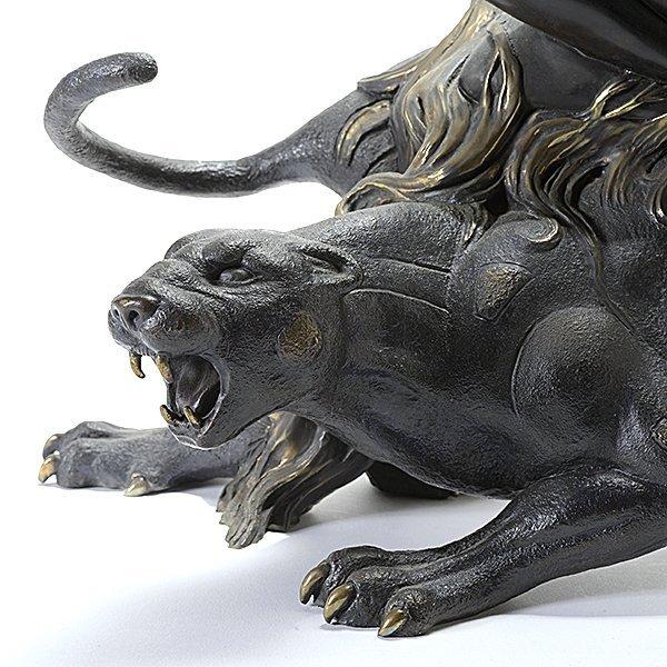 "Tiefeng Jiang ""Mountain Ghost"" bronze - 3"