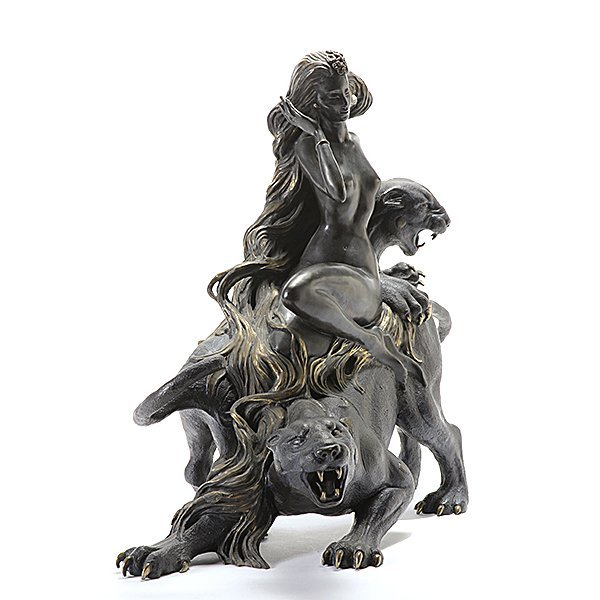 "Tiefeng Jiang ""Mountain Ghost"" bronze - 4"