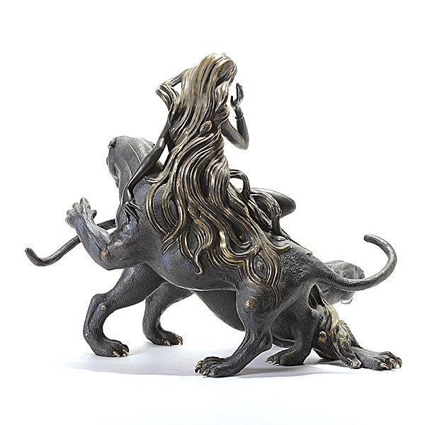 "Tiefeng Jiang ""Mountain Ghost"" bronze - 6"