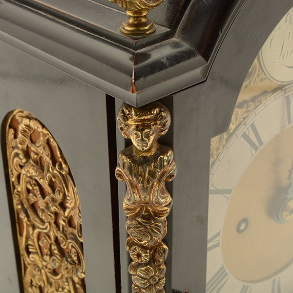 H. Beckwith English Bracket Clock - 10
