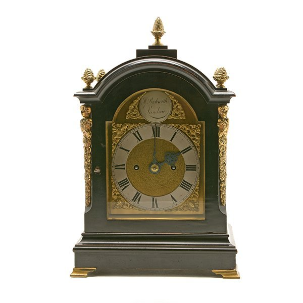 H. Beckwith English Bracket Clock