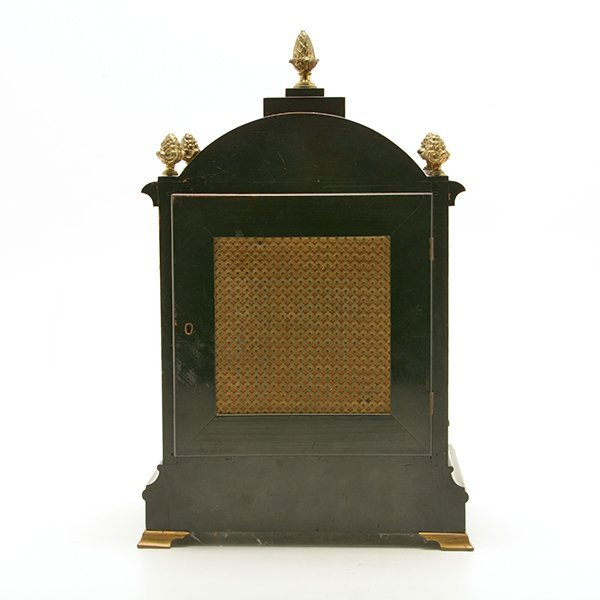 H. Beckwith English Bracket Clock - 3