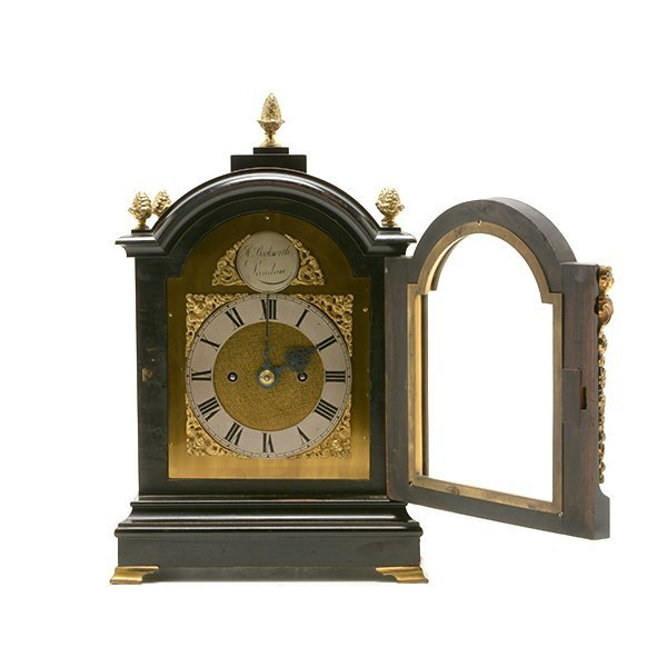 H. Beckwith English Bracket Clock - 5