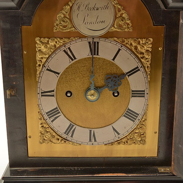 H. Beckwith English Bracket Clock - 6