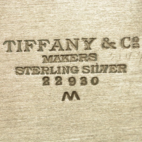 Two Tiffany Sterling Silver Trays - 5