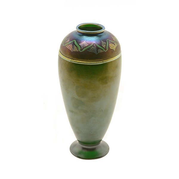 Tiffany Studios Favrile Glass Vase