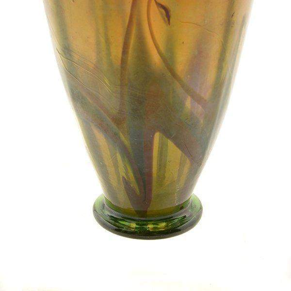 Tiffany Studios Favrile Glass Vase - 3