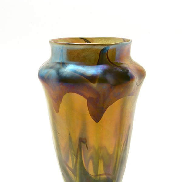 Tiffany Studios Favrile Glass Vase - 4