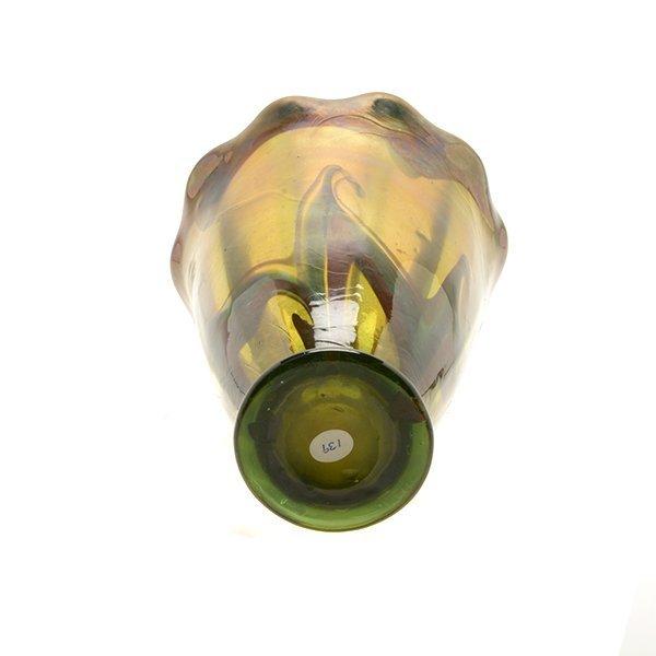 Tiffany Studios Favrile Glass Vase - 5