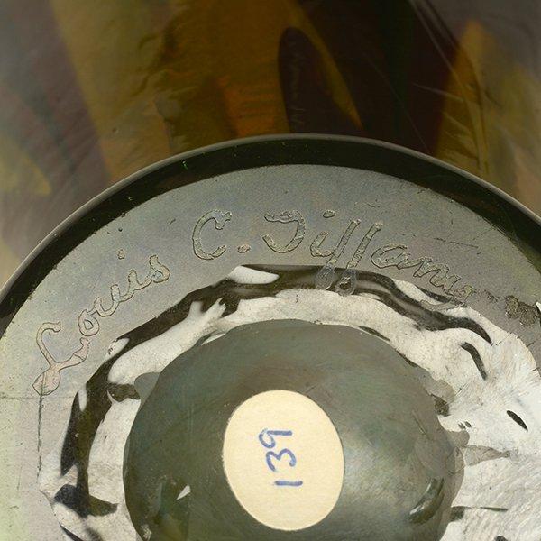 Tiffany Studios Favrile Glass Vase - 9