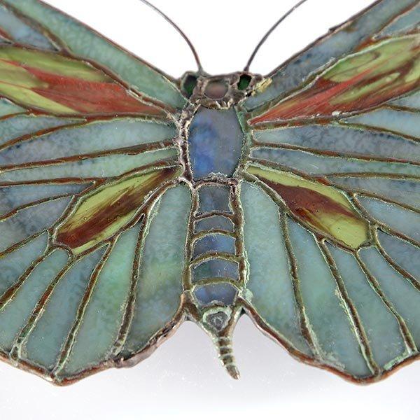 Tiffany Studios Filgree Butterfly Lamp Pendant - 2