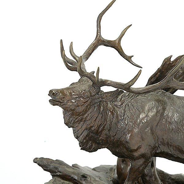 Clark Bronson (1939-) Elk Territory, 1973 - 2