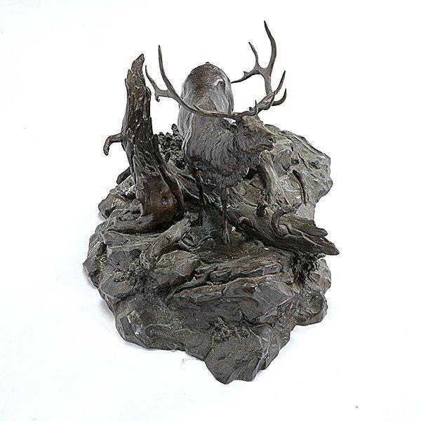Clark Bronson (1939-) Elk Territory, 1973 - 6