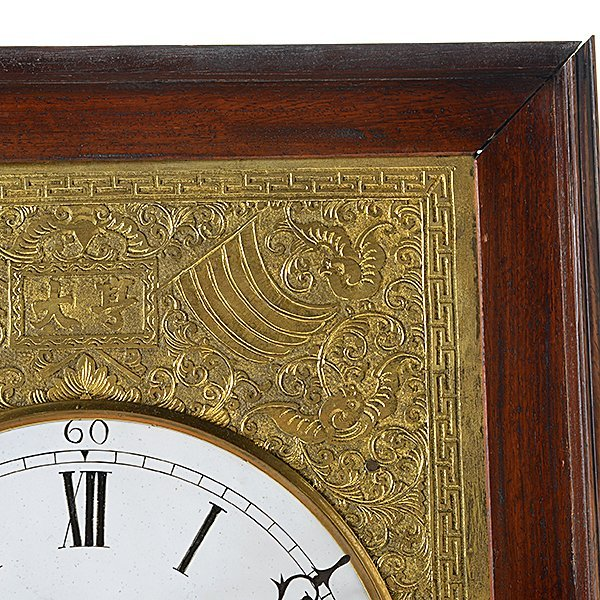 Chinese Bracket Thirty Day Clock with Pivoting Stand - 3