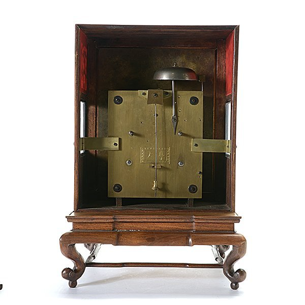 Chinese Bracket Thirty Day Clock with Pivoting Stand - 7