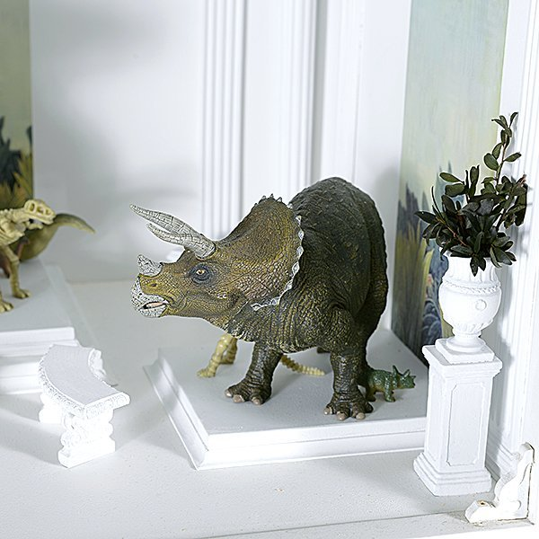 Tyrannosaurus Rex and Friends Miniature by Tom Roberts - 2