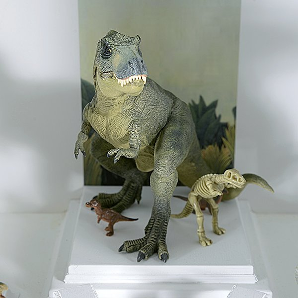 Tyrannosaurus Rex and Friends Miniature by Tom Roberts - 3