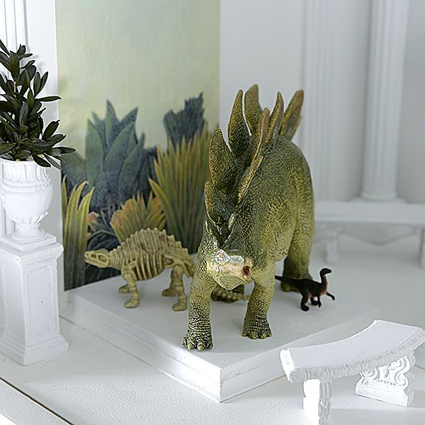 Tyrannosaurus Rex and Friends Miniature by Tom Roberts - 4