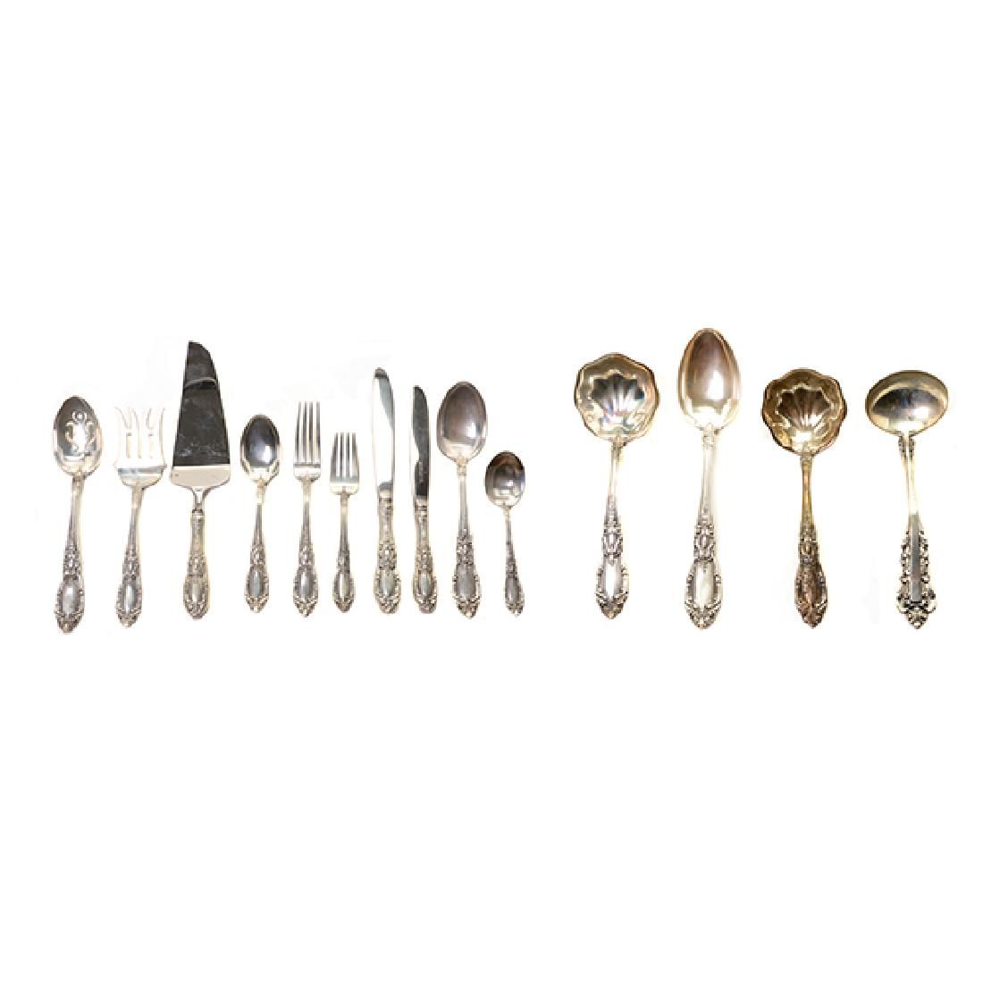 Set of Towle King Richard Sterling Silver Flatware