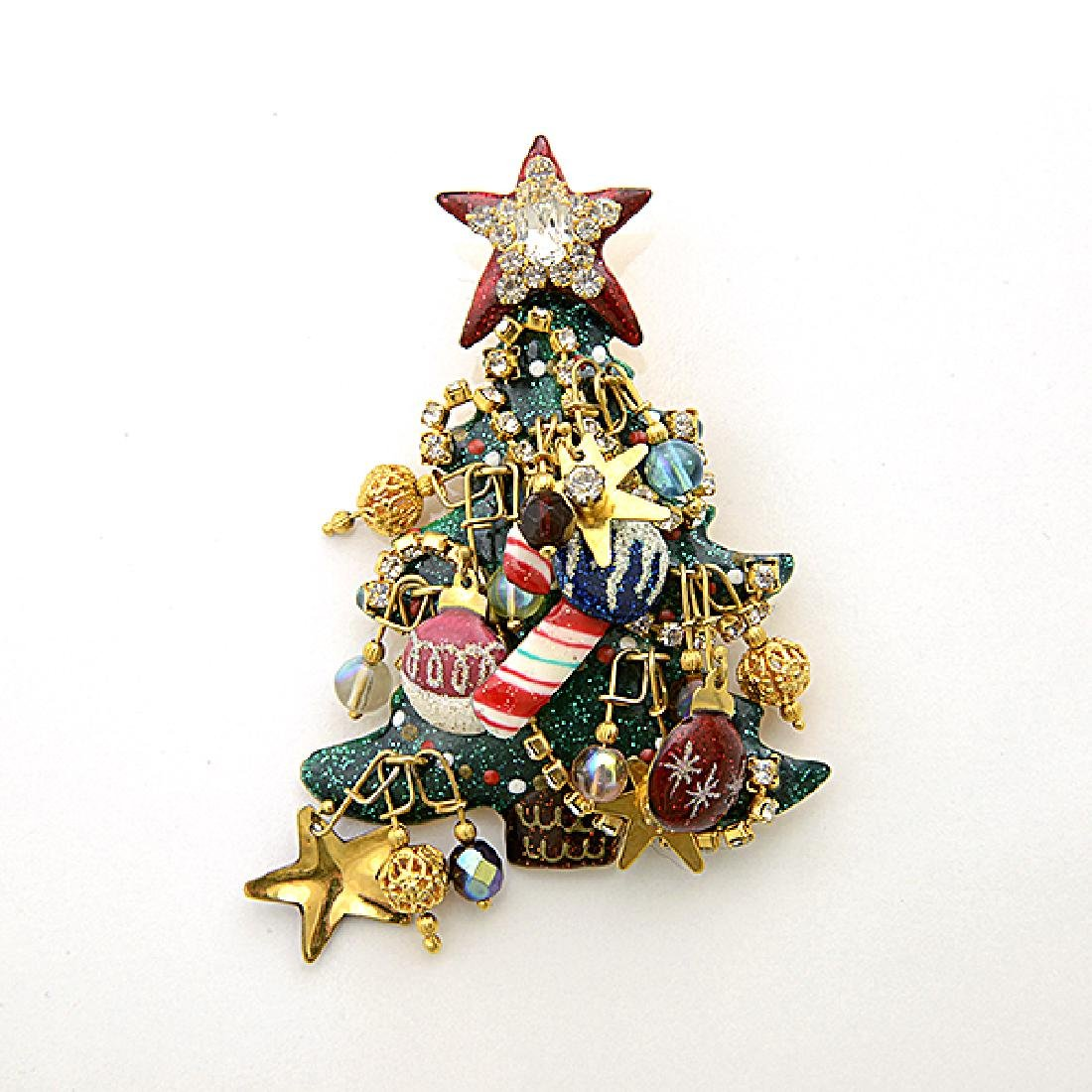 Lunch at the Ritz Couture Christmas Theme Jewelry - 3