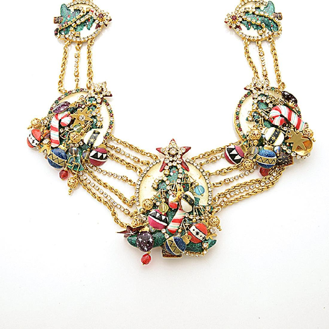 Lunch at the Ritz Couture Christmas Theme Jewelry - 5