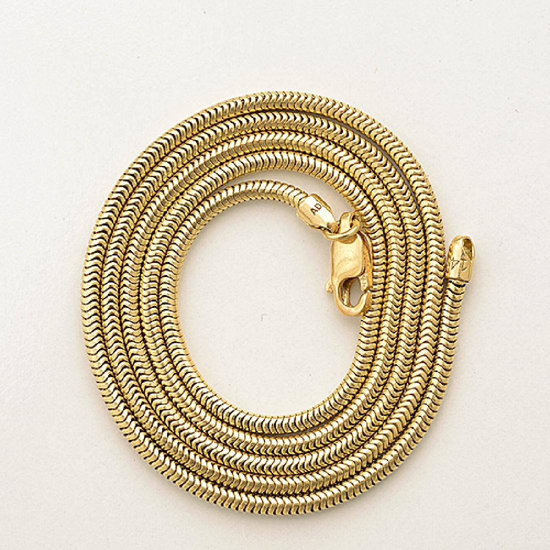 Baroque Cultured Pearl, Diamond, 14k Yellow Gold - 3