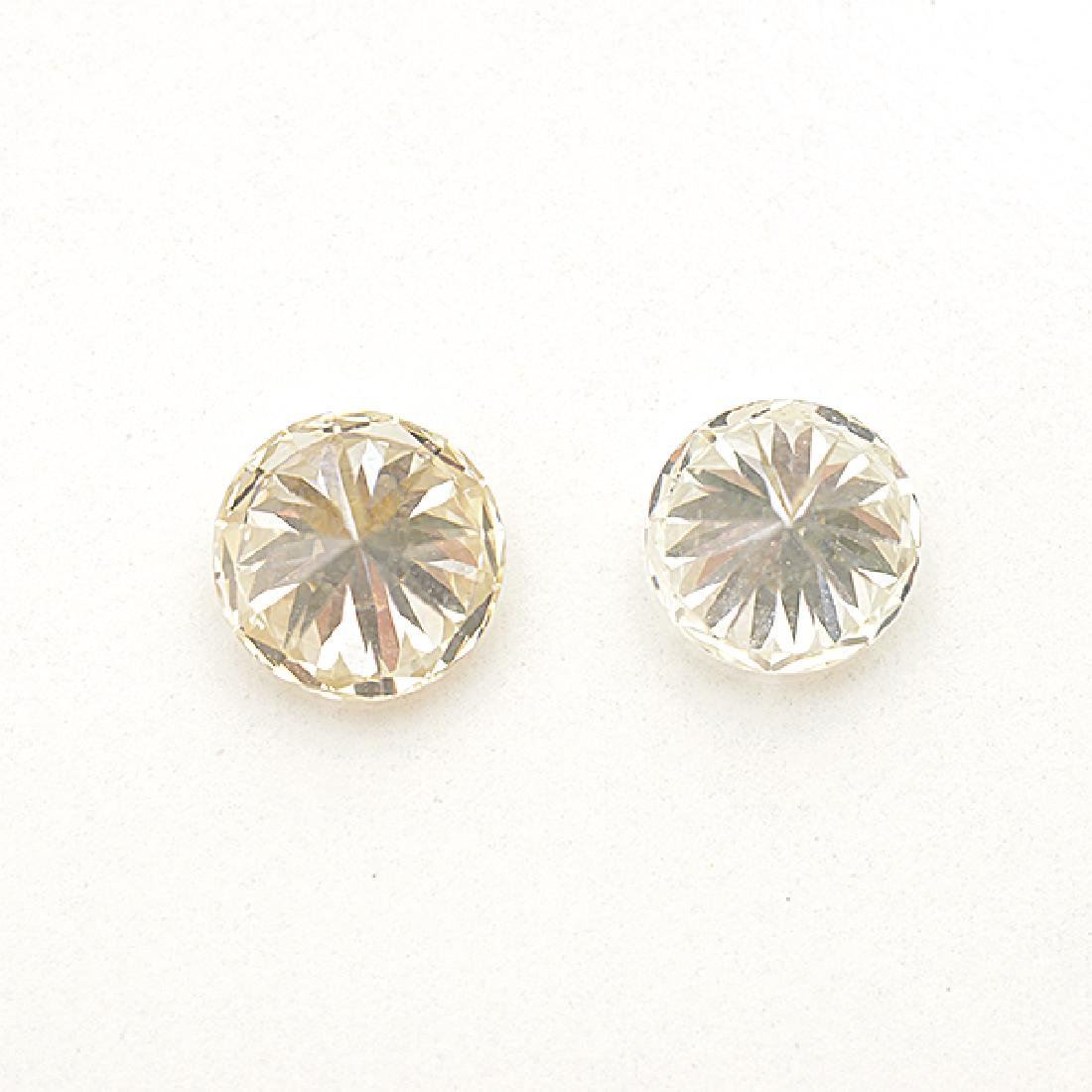 Collection of Two Unmounted Diamonds. - 3
