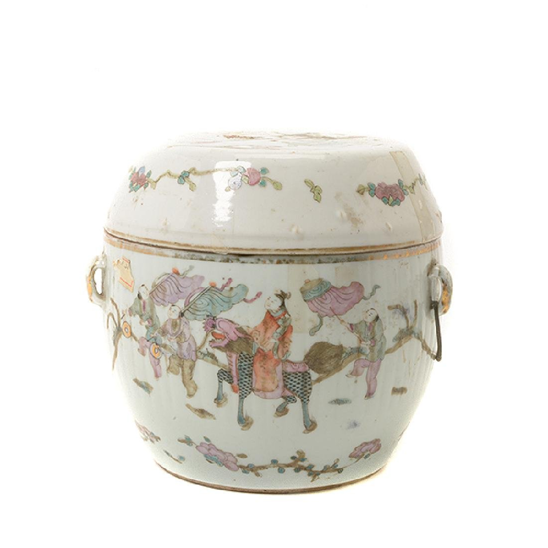 Two Famille Rose Containers, Late 19th Century - 10