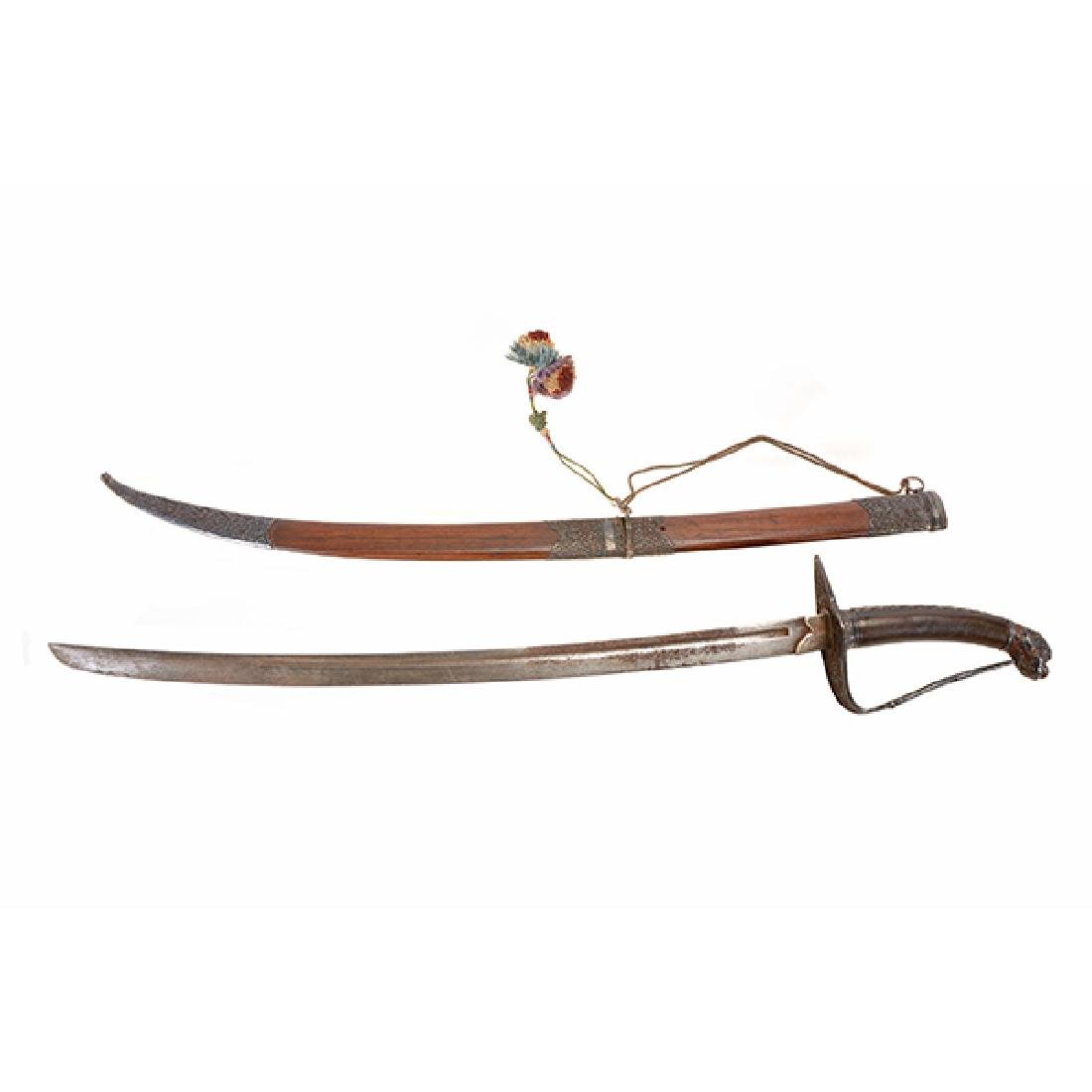 A Tibetan Ceremonial Sword, 19th Century